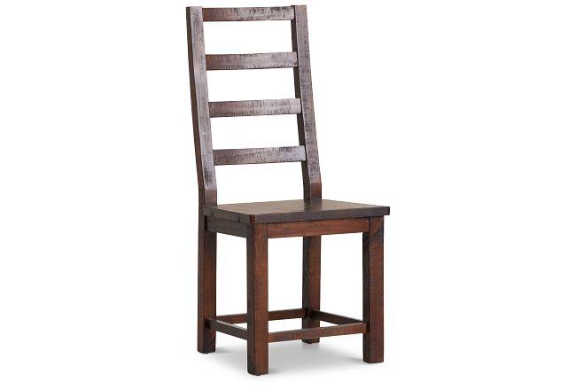 Seattle Dark Tone Wood Side Chair