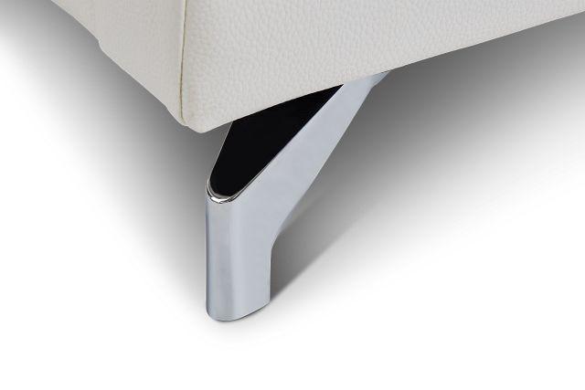 Marquez White Micro Sofa