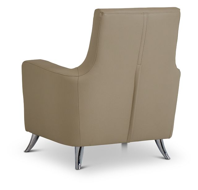Marquez Taupe Micro Accent Chair