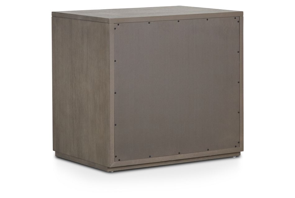 Highline Gray Large File Cabinet