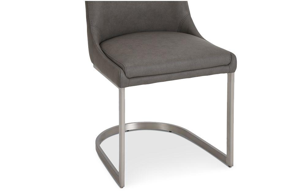 Madden Dark Tone Upholstered Side Chair