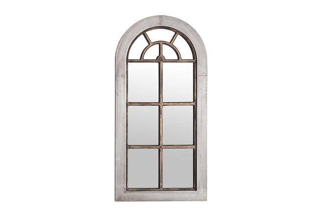 Julena Whitewash Mirror