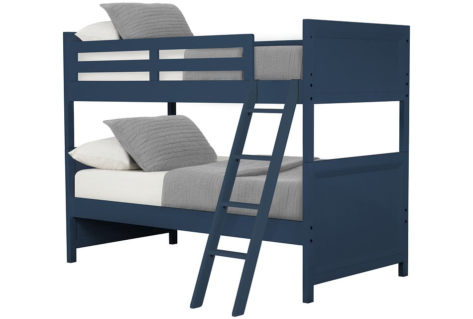 Ryder Dark Blue Bunk Bed