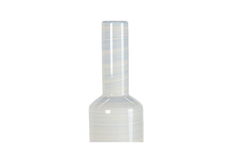 """Nailah Blue 19"""" Vase"""