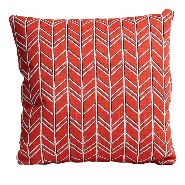 "Bogatell Orange 20"" Indoor/outdoor Accent Pillow (0)"