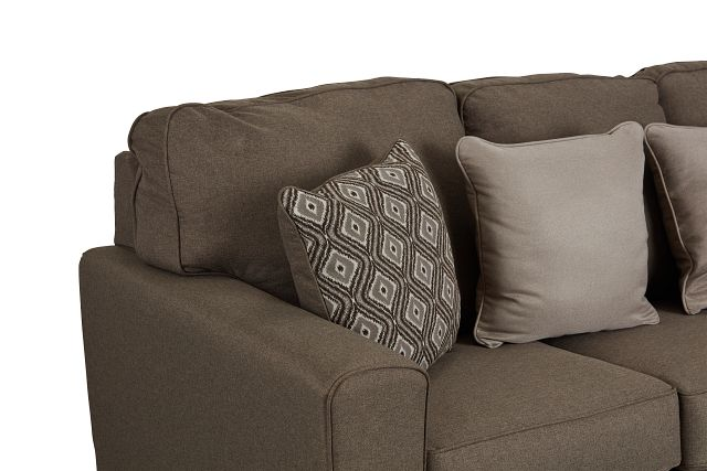 Calicho Dark Taupe Micro Sofa (2)