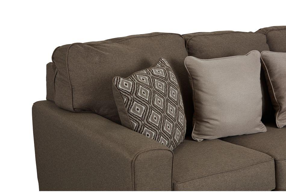 Calicho Dark Taupe Micro Sofa