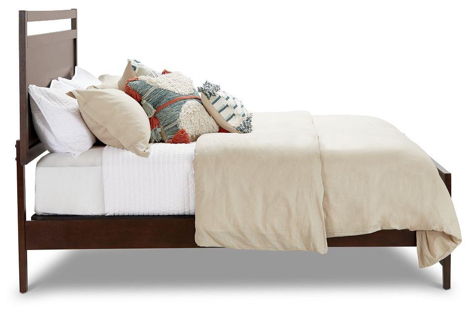 Chatham Dark Tone Panel Bed