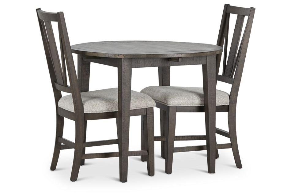 "Heron Cove Dark Tone 38"" Table & 2 Chairs,  (1)"