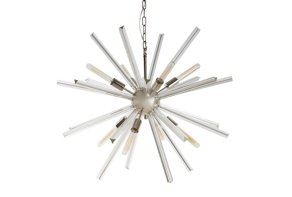 Theodore Clear Chandelier