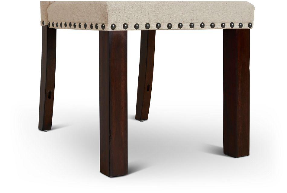 Napa Dark Tone Upholstered Side Chair