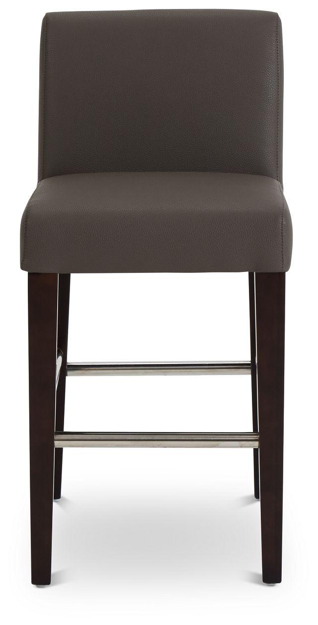 """Cane Graymicro 24"""" Upholstered Barstool (3)"""