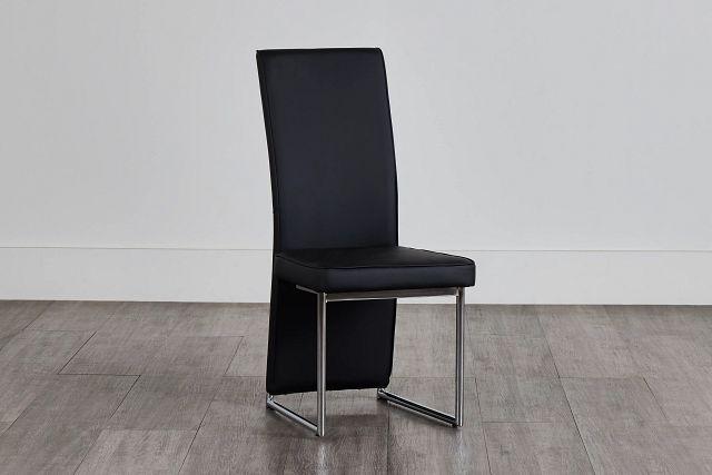 Paris Black Upholstered Side Chair (0)