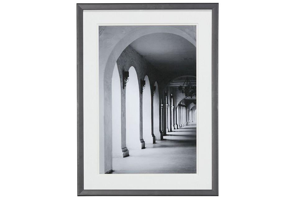 Pillar Gray Framed Wall Art