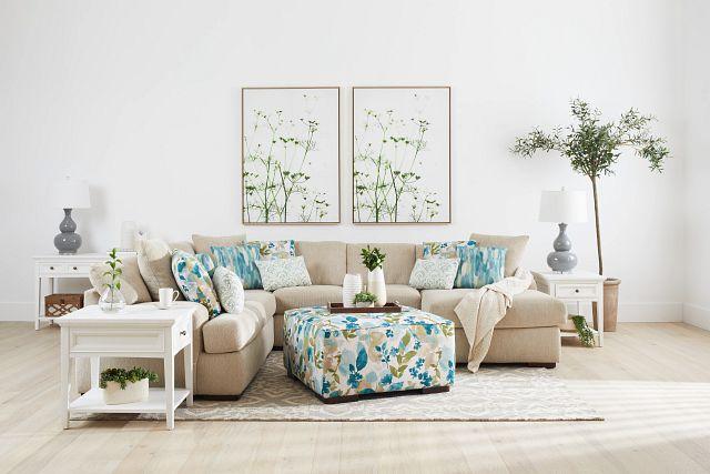 Heron Cove White Sofa Table