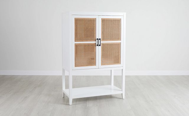 Nantucket Two-tone Woven Bar Cabinet (0)