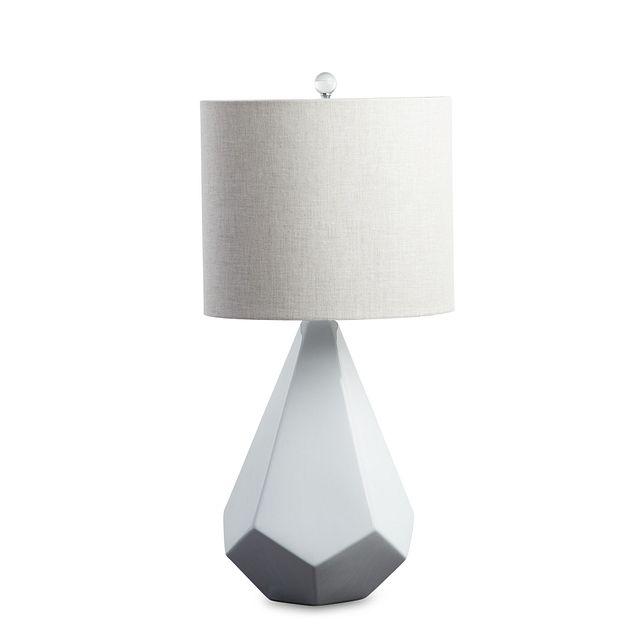 Delaney White Table Lamp (1)
