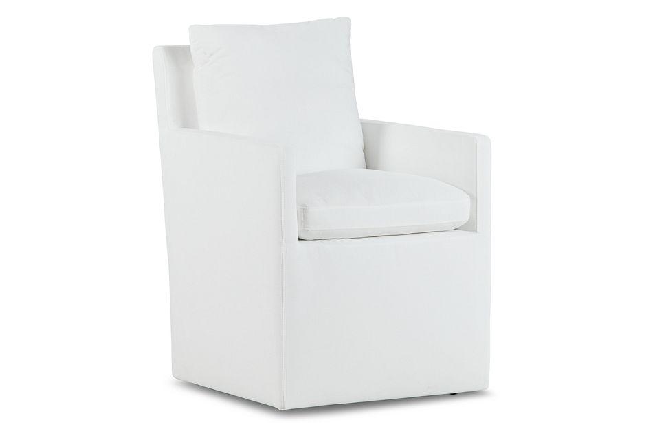 Auden WHITE CASTORED Upholstered Arm Chair,  (0)