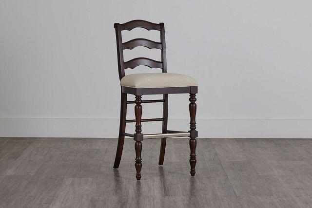 "Savannah Dark Tone 30"" Wood Barstool (2)"