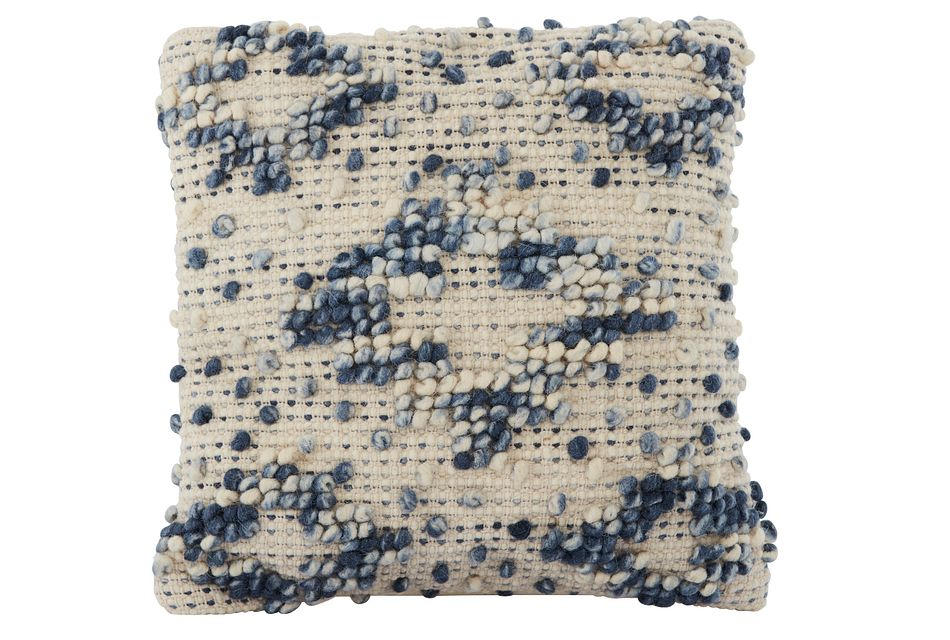 """Layla Blue 18"""" Accent Pillow"""