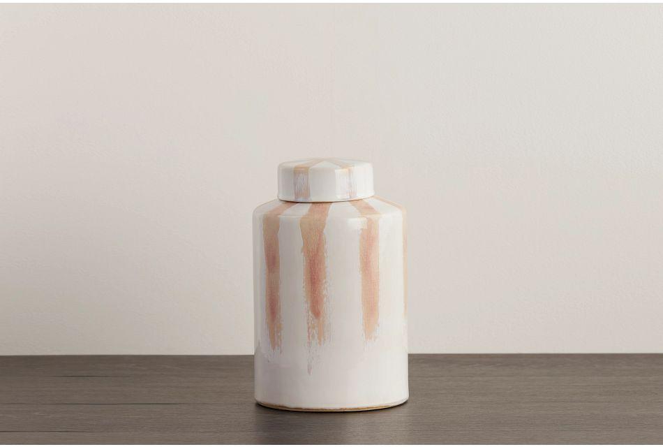 Clare Pink Large Jar