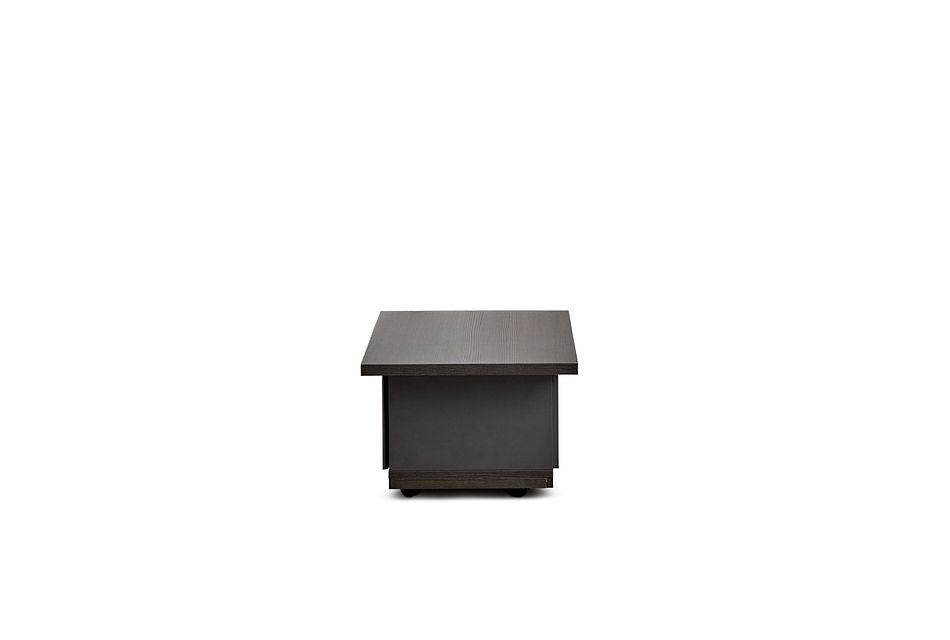 Caelan Dark Tone Rectangular Coffee Table