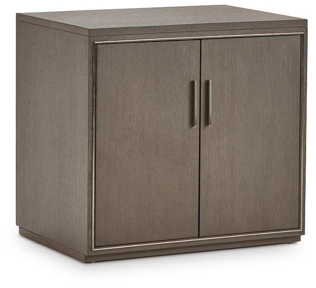 Highline Gray Door Cabinet (2)