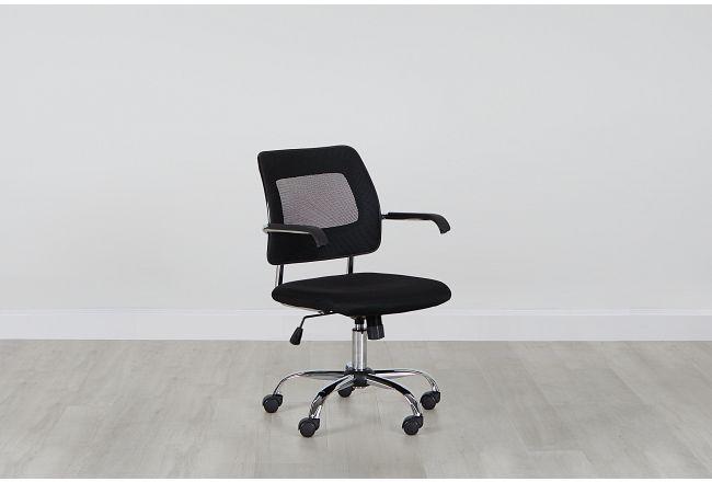 Salida Black Desk Chair