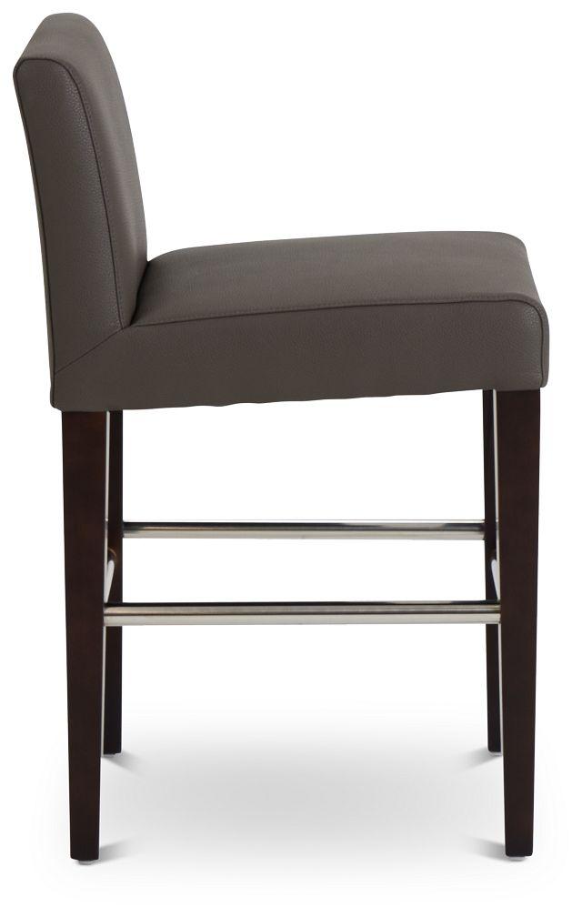 """Cane Graymicro 24"""" Upholstered Barstool (2)"""