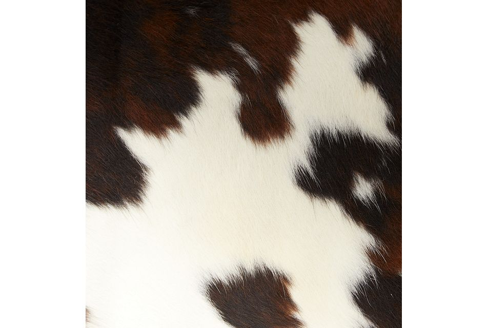 Motley Brown Leather 6x9 Area Rug