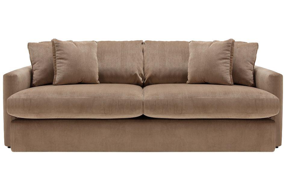 Tara2 Dark Taupe  Micro Sofa