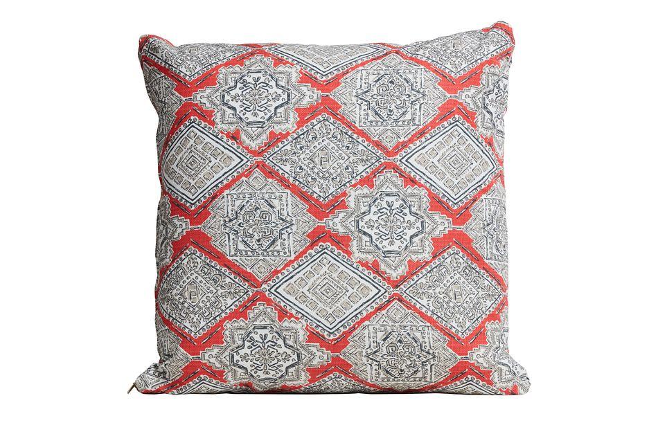 "Milan Coral 20"" Indoor/outdoor Accent Pillow"