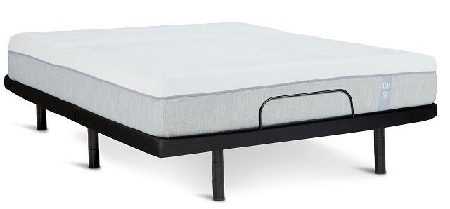 "Rest & Renew Memory Foam 10"" Silver Adjustable Mattress Set (1)"