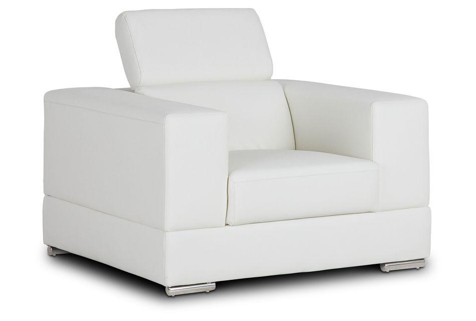 Maxwell White Micro Chair,  (3)