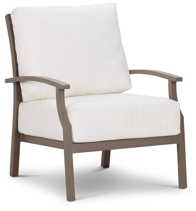 Raleigh White Aluminum Chair (0)