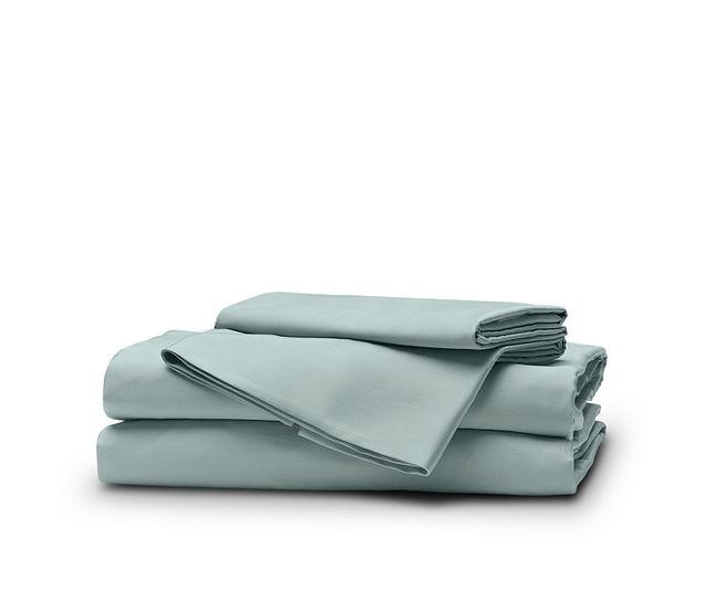 Egyptian Cotton Blue 400 Thread Sheet Set (1)