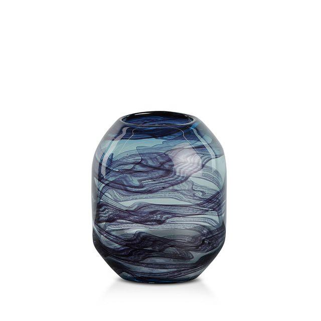 Cocoa Dark Blue Vase (1)