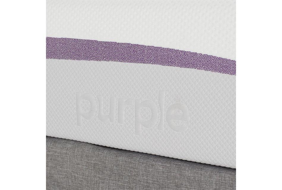 Purple Adjustable Mattress Set