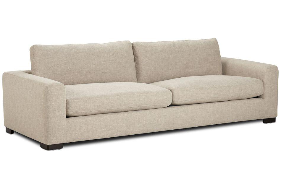 "Bohan 103"" Pewter Fabric Sofa,  (2)"