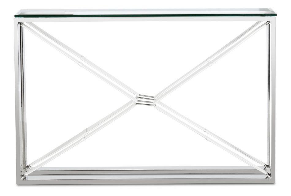 Mavis Glass  Sofa Table