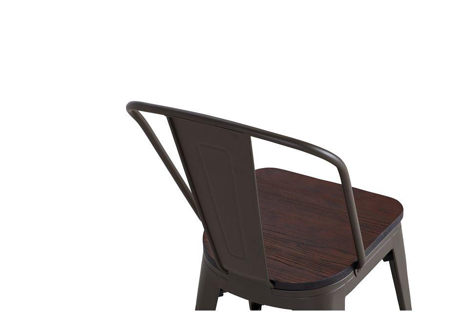 Harlow Dark Tone Wood Side Chair