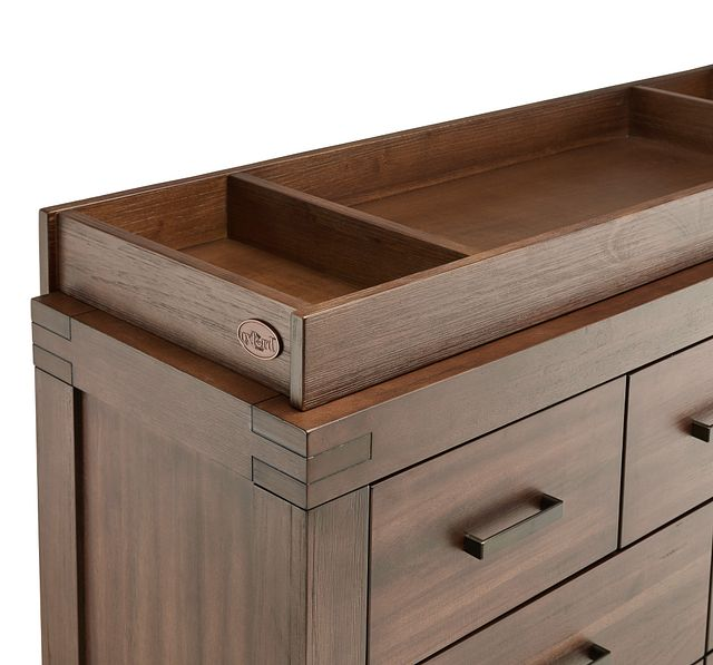 Piermont Mid Tone Dresser With Changing Top (3)