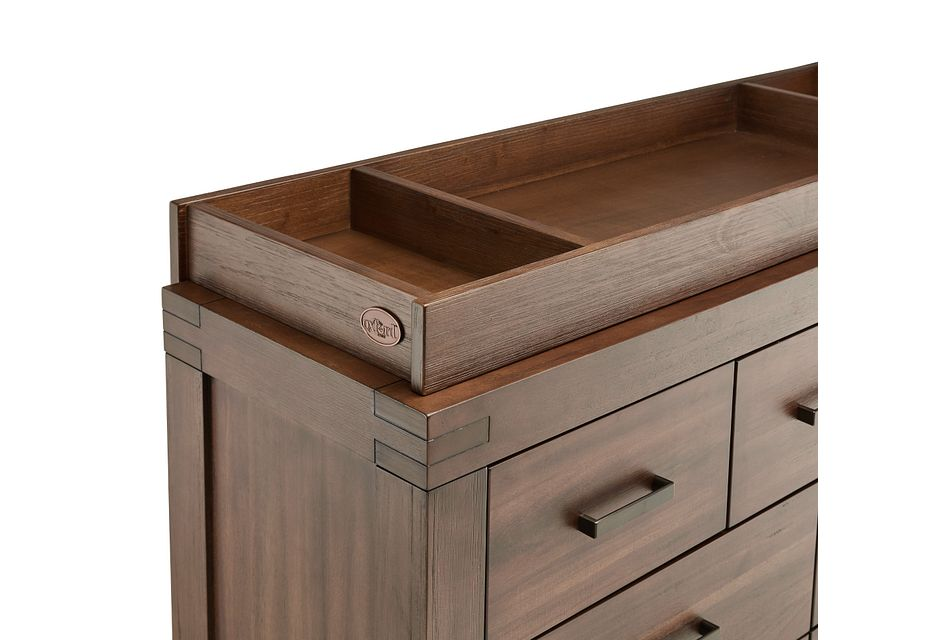 Piermont Mid Tone Dresser With Changing Top