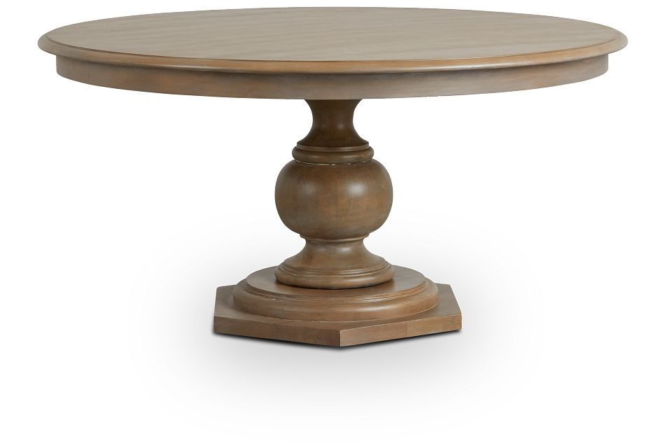 Haddie Light Tone Round Table