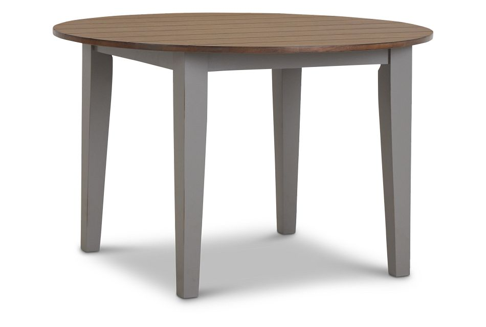 Sumter Gray Round Table,  (2)