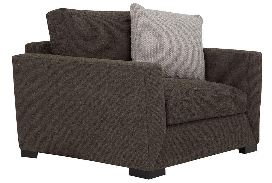 Nicolette Dark Gray  Fabric Chair,  (0)