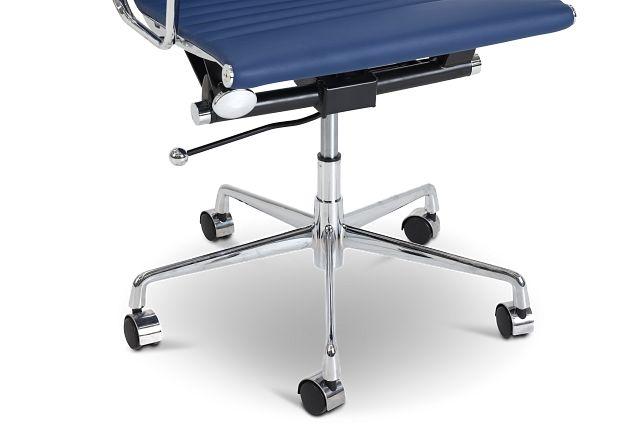 Mateo Dark Blue Desk Chair