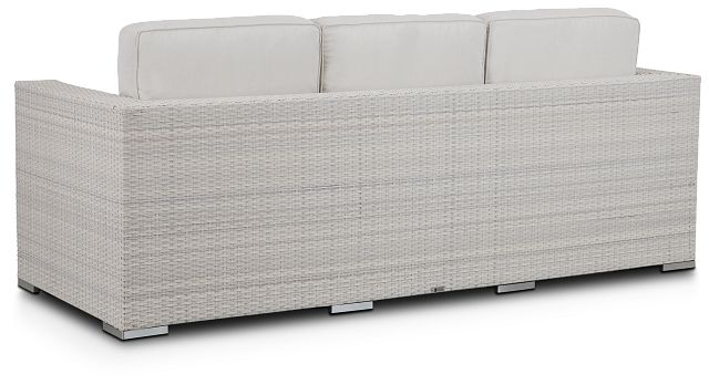 Biscayne White Sofa (3)