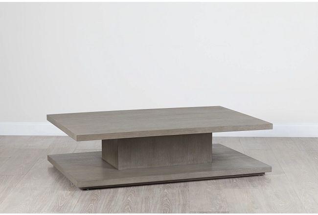"Nixon Light Tone 64"" Rectangular Coffee Table"