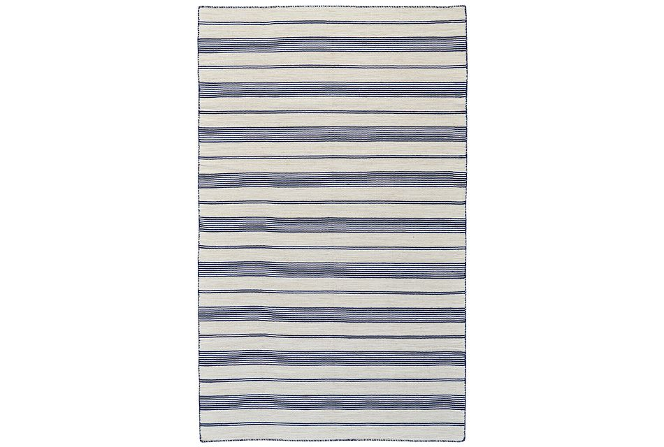 Duprine Dark Blue Indoor/outdoor 2x3 Area Rug
